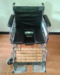 Kursi roda Bab 2in1 ( kursi roda + tempat bab / berak)