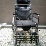 kursi roda Multifungsi 3in1 (Kursi roda + Tempat Tidur + Tempat BAB / toilet + Kaki selonjor)
